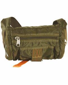 US Army Para Bag Deployment Belt Pouch Parachute Jumper Army Bag Airforce