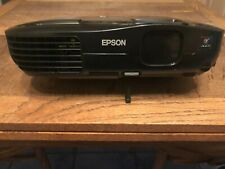Epson EX51 Black LCD HPMI Projector with Cables, Remote and Carrying Case