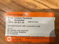July Train Tickets