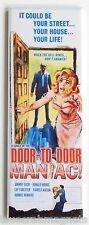 Door to Door Maniac FRIDGE MAGNET (1.5 x 4.5 inches) movie poster johnny cash