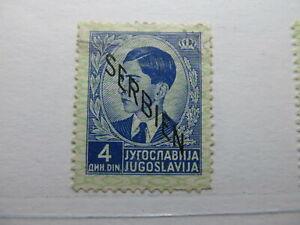 Serbien Serbia German Occupation 1941 4d Fine used A5P15F185