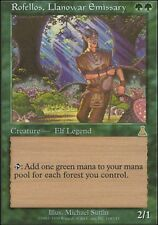 Magic the Gathering MTG 1x Rofellos, Llanowar Emissary x 1 Urza's Destiny MP/LP-