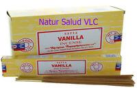 Incienso Vanilla_Vainilla_Satya_12 cajitas de 15g _Incense_OM_Meditación_Bhuda