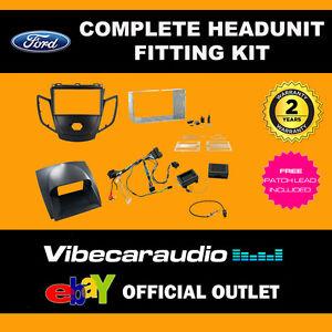 CTKFD16 Ford Fiesta 2010> Black & Grey Fascia Stereo Fitting Kit