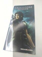 Crisis Core Final Fantasy VII 7-PLAYSTATION PSP-sólo folleto manual sin juego!