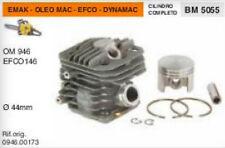 CILINDRO E PISTONE MOTOSEGA EMAK OLEO MAC 946 EFCO 146 DYNAMAC Ø 44 mm