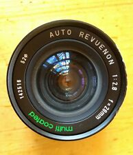 Auto Renuenon MULTI-COATED Pentax F mount 1:2.8 f=28mm lens