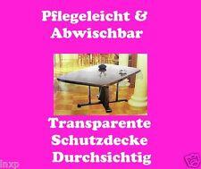 150x225 cm Tischdecke Durchsichtig Transparent SCHUTZDECKE Wetterfest vinyl Neu
