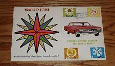 Original 1966 Chevrolet Car Air Conditioner Sales Brochure 66 Chevy
