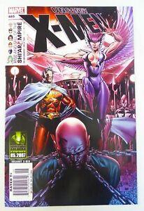 Marvel UNCANNY X-MEN (2007) #485 Rare NEWSSTAND Variant VF+ Ships FREE!