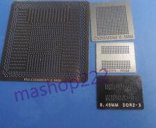 4pcs Heat Directly Sony PS4 CXD90025G GPU CPU DDR3 SDRAM RAM BGA Reball Stencil