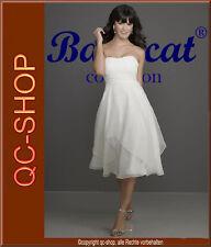 Standesamt Brautkleid Abendkleid Hochzeitskleid Kleid weiß 44 NEU TOP AZ003W