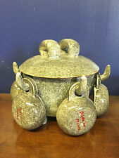 French Modernist MADOURA POTTERY Soup Tureen SUZANNE RAMIE Mid Century Modern