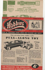 1st Edition Hobbies Weekly Craft Magazines