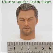 X L29-38 1/6 scale inception Leonardo DiCaprio Head Sculpt