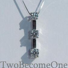 VS2 Round heart Fine Diamond Necklaces & Pendants