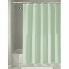 InterDesign Poly Bath Curtains, Long Shower Curtain, Made of Polyester, Sea-Foam