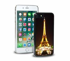 Eifel Tower Paris France Night Phone Case Cover For iPhone & SAMSUNG