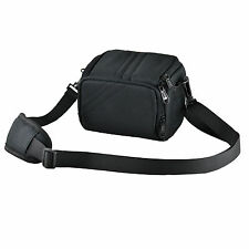 Camera Case Bag for Nikon CoolPix L330 L340 B500 Bridge Camera (Black)