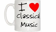 I Love Corazón Música Clásica Taza