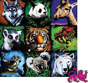 Jigsaw puzzle Animal Wild All Together Now 500 piece New