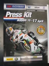 Press Kit FIM Superbike World Championship Assen, 20th Edition April 2011