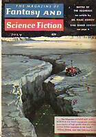 1959 Fantasy/Science Fiction July - Battle of Eggheads