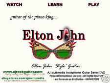 Custom Guitar Lessons, Learn guitar of Elton John!