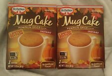 Pumpkin Spice Mug Cakes, Dr. Oetker seasonal single serve pack (2 boxes)