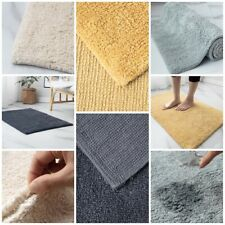 100% Cotton Super Soft Fluffy Rug Water absorbent Shaggy Area Rug Dining Room