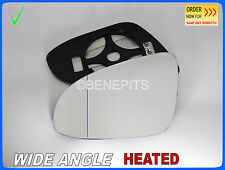 Wing Mirror Glass TOYOTA YARIS, AURIS 2012-2016 Wide Angle HEATED Left  #JT071