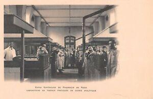 CPA 75 PARIS VIe ECOLE SUPERIEURE DE PHARMACIE CHIMIE ANALYTIQUE