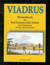 Viadrus HEIMATBUCH für BAD FREIENWALDE und Umgebung