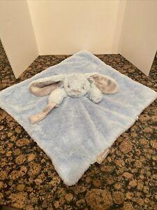 Blankets & Beyond Blue Bunny Lovey