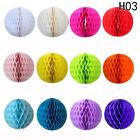 5Pcs Paper Lantern Honeycomb Balls Tissue Pom Party Wedding Decoration