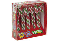 10 x Christmas Tree Peppermint Candy Canes Decoration Sweets Box Gift