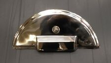Spare wheel cover in stainless steel for Vespa PX & LML Star 125