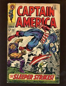 1968 Marvel Comic Book #102 Captain America