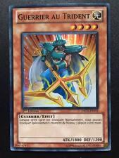 Carte Yu-Gi-Oh! DREV-FR015 Guerrier au Trident (Super Rare) 1ere Edition