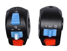 "7/8"" Handle Bar Left Right Horn Turn Signal Electric Start Handlebar Harley~BMW"