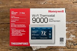 Honeywell TH9320WF5003 Wi-Fi 9000 Color Touch Screen Programmable Thermostat