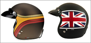 Viper RS05 Slim Fit Open Face Motorcycle Scooter Retro Jet Helmet