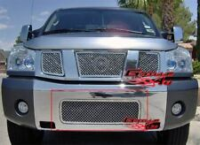 Fits 2004-2015 Nissan Titan/04-07 Armada Bumper Stainless Steel Mesh Grille