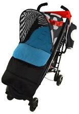 Poussettes, systèmes combinés et accessoires de promenade bleus Maclaren pour bébé