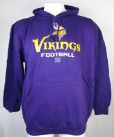 Minnesota Vikings NFL Men's Big & Tall Purple Pull Over Hoodie