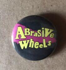 Abrasive Wheels - Button Badge - Round 25mm