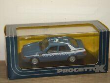 Alfa Romeo 75 1600 Polizia Polizei - Progetto K 1:43 in Box *38303