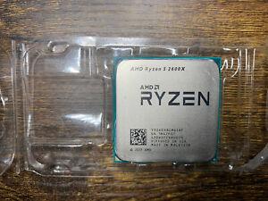AMD RYZEN 5 2600X 6-cores Processor 4.2 GHz
