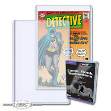 "10 - Silver Age Comic Book Toploaders (Rigid Top Loader) BCW - 7-1/4"" x 10-3/4"""