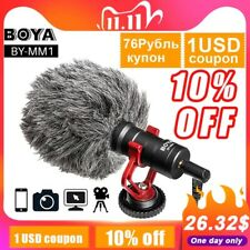 Video Microphone Universal Recording Microphone Mic Dslr Camera Iphone Android